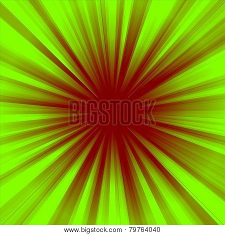 Two color radial background