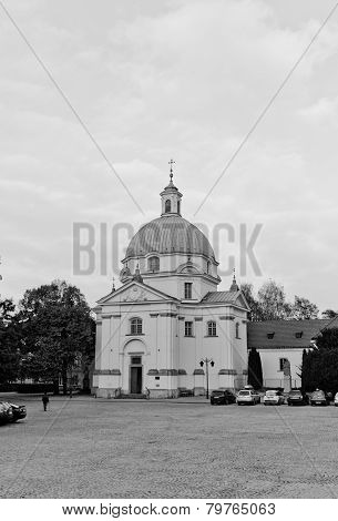 St. Kazimierz Church. Warsaw, Poland