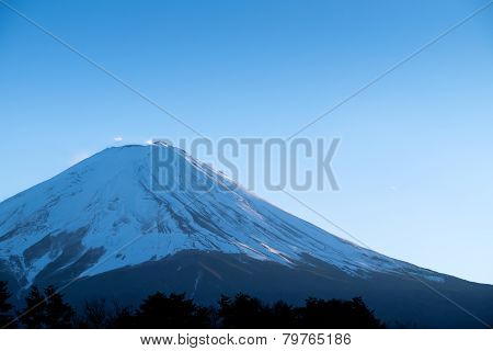 Zoom The Morning Mountain Fujisan Of Winter Season
