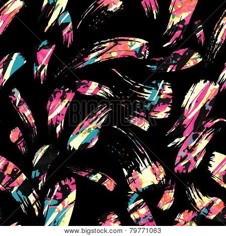 seamless brush stroke pattern