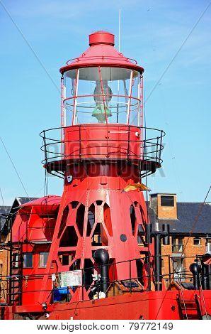 Sula Lightship, Gloucester.