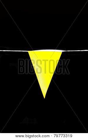 Yellow pennant.