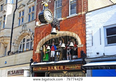 Bakers Jewellers, Gloucester.