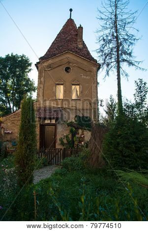 Traditional House In Sighisoara, Romania