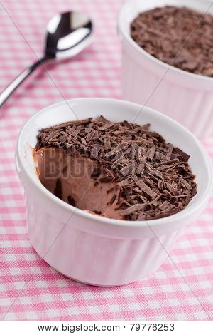 Chocolate Pudding And Chips Dessert