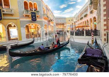 Grand Canal in Las Vegas