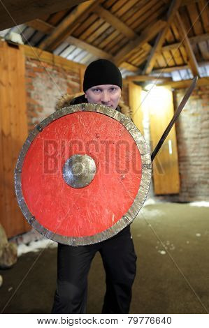 Man With A Shield And Sword