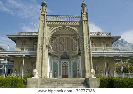 Southern Veranda Of Vorontsov Palace