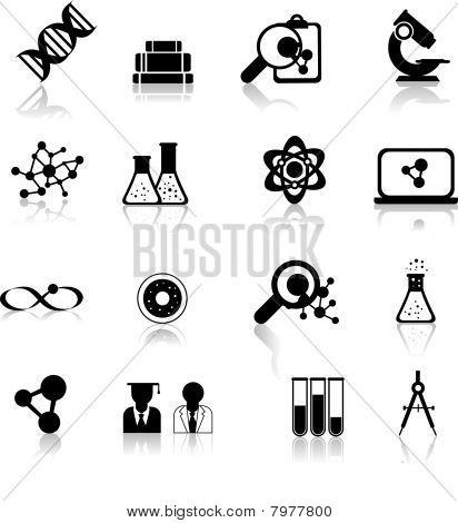 science illustration examining cells