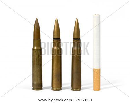Cigarette And Bullets