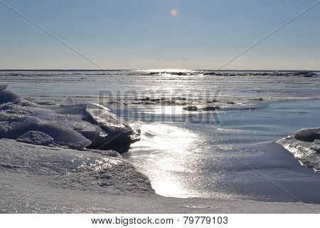 Marine Winter Landscape