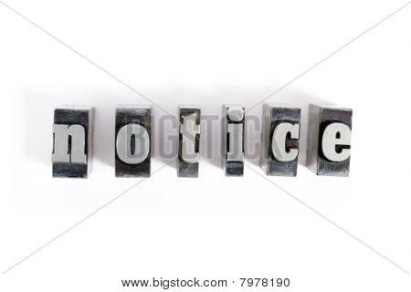 Block Letters