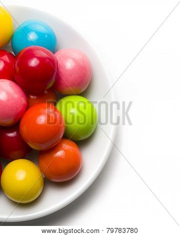 Gumballs On A Plate