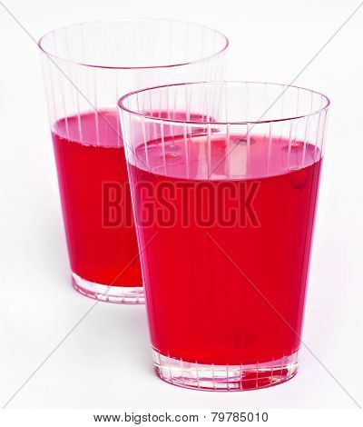 Red Cranberry Fruit Drinks