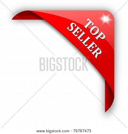 Red Corner With The Sign Top Seller