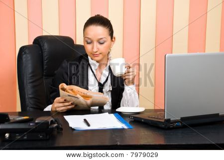 Business Woman Office Life