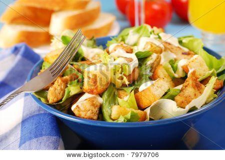 Bowl Of Caesar Salad