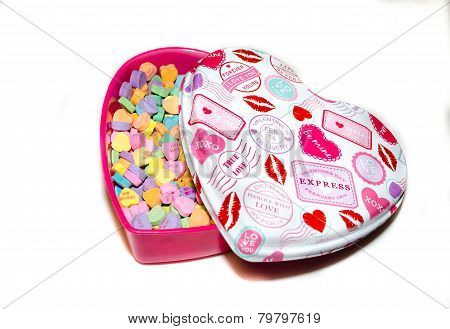 Valentines Day Heart Candy