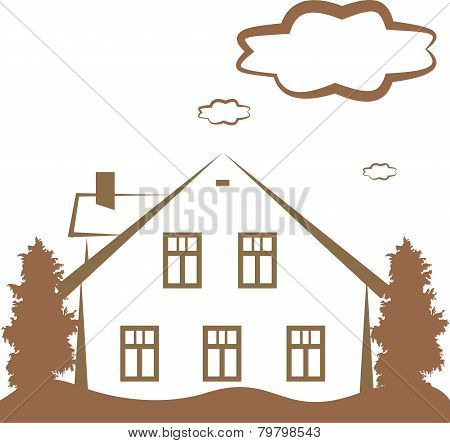 Contour Of House
