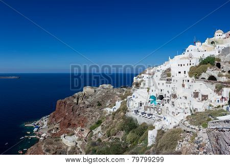 Coast Of Oia