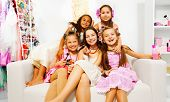 picture of hair curlers  - Beautiful girls with hair - JPG
