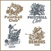 picture of paintball  - Paintball set  - JPG