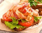 foto of bap  - hot big sandwich - JPG
