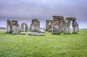 foto of stonehenge  - Mystical site of stonehenge - JPG