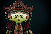 picture of doll  - String Puppet Myanmar tradition dolls - JPG