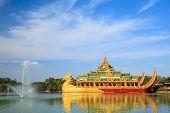 pic of yangon  - Karaweik palace  - JPG