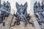 foto of fallen  - The Fountain of the Fallen Angel  - JPG