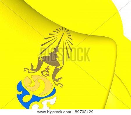 Royal Flag Of King Rama Ix