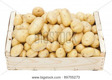Box With Potatoes