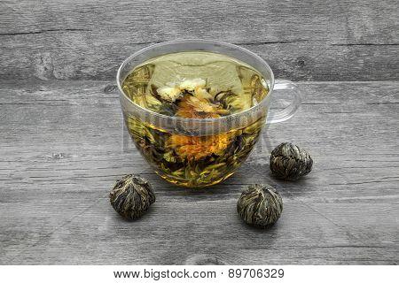 Jasmine Tea And Jasmine Balls