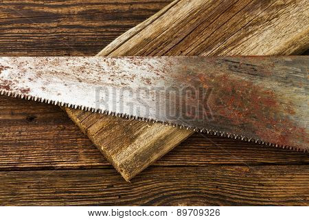 Hacksaw And Board