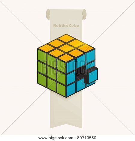 Rubik's Cube and Ribbon