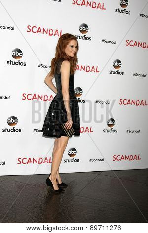 LOS ANGELES - MAY 1:  Darby Stanchfield at the