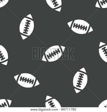 Rugby ball pattern