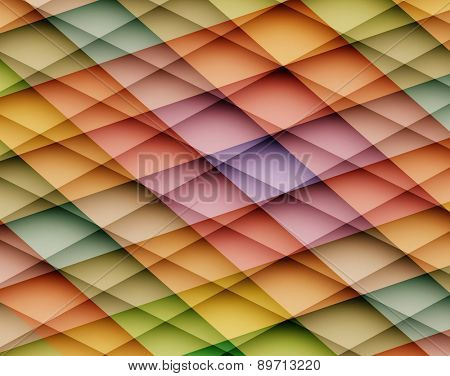 Colorful vector abstract background with mosaic pattern. Vector illustration