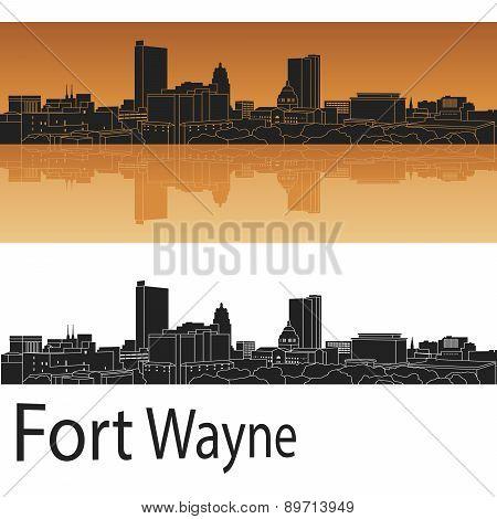 Fort Wayne Skyline