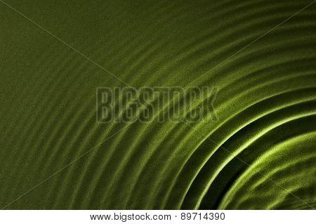 Soft Rippled Green Background