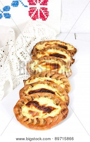 Traditional Karelian Pies With Potatoes