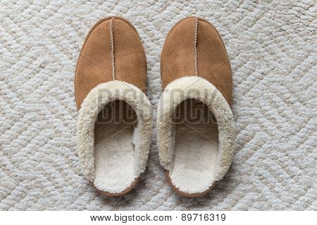 A Pair Of Winter Slipper