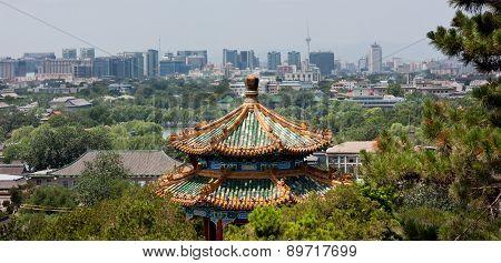 Modern Beijing Skyline