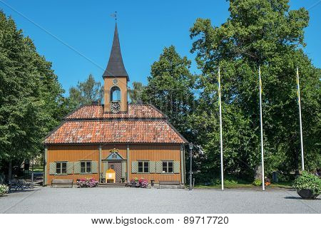 The old city hall in Sigtuna, Sweden.