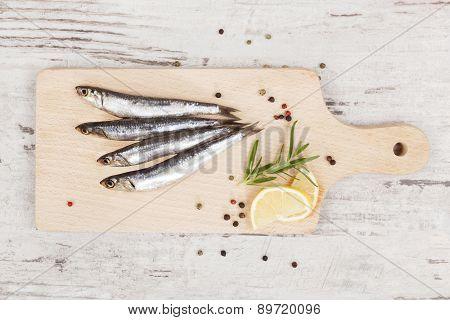 Fresh Sardines.