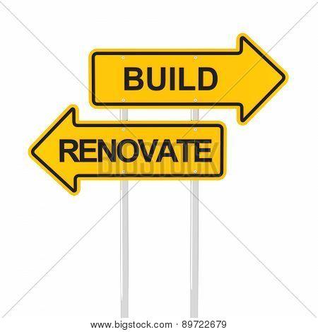 Build or renovate