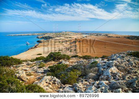 Park Cape Greco Landscape