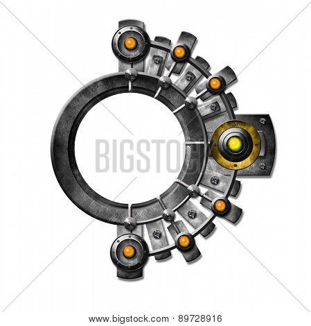 Metallic Button