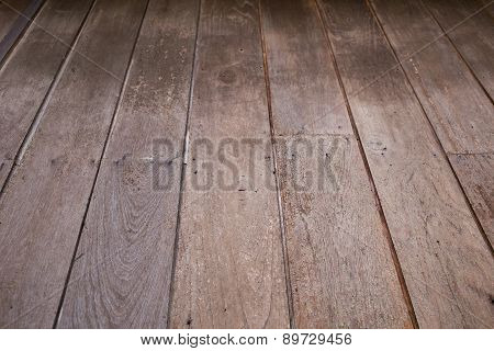 Wood Brown Floor Texture Background